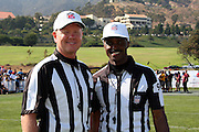 MALIBU, CA - JULY 24:  NFL Officials pose for a photo as former NFL players and celebrities participate in the EA Sports 2009 Madden NFL 10 Pigskin Pro-Am flag football game between the Famers and the Gamers at Malibu Bluffs State Park on Friday, July 24, 2009 in Malibu, California. ©Paul Anthony Spinelli