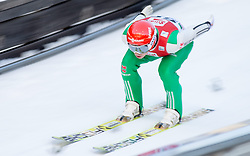 19.12.2014, Nordische Arena, Ramsau, AUT, FIS Nordische Kombination Weltcup, Skisprung, Training, im Bild Eric Frenzel (GER) // during Ski Jumping of FIS Nordic Combined World Cup, at the Nordic Arena in Ramsau, Austria on 2014/12/19. EXPA Pictures © 2014, EXPA/ JFK