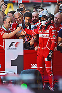 Sebastian Vettel of Scuderia Ferrari takes second place in the Spanish Formula One Grand Prix at Circuit de Catalunya, Barcelona<br /> Picture by EXPA Pictures/Focus Images Ltd 07814482222<br /> 14/05/2017<br /> *** UK &amp; IRELAND ONLY ***<br /> <br /> EXPA-EIB-170514-0108.jpg