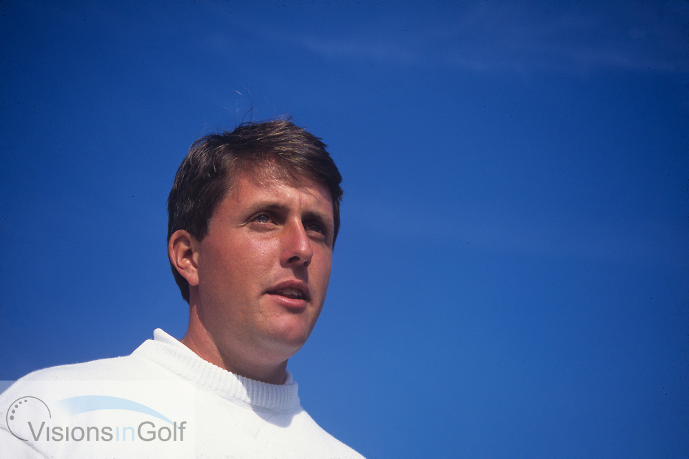 Phil Mickelson<br /> Phoenix Open USA<br /> 1995<br /> <br /> Pictures Credit: Mark Newcombe/visionsingolf.com