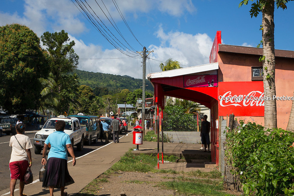 Somosomo village, Taveuni, Fiji