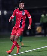 Christopher Cortez (FC Helsingør) under træningskampen mellem FC Helsingør og Saudi Arabien U21 landshold den 27. november 2019 på Svanemølle Anlægget i København (Foto: Claus Birch).