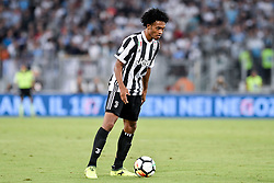 August 13, 2017 - Rome, Italy - Juan Cuadrado of Juventus during the Italian Supercup Final match between Juventus and Lazio at Stadio Olimpico, Rome, Italy on 13 August 2017. (Credit Image: © Giuseppe Maffia/NurPhoto via ZUMA Press)