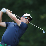 Scott Langley, USA, in action during the final round of the Travelers Championship at the TPC River Highlands, Cromwell, Connecticut, USA. 22nd June 2014. Photo Tim Clayton