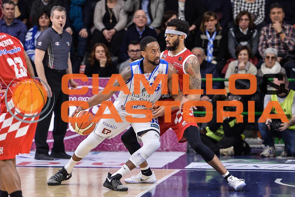 David Lighty<br /> Banco di Sardegna Dinamo Sassari - The Flexx Pistoia Basket<br /> Legabasket Serie A LBA Poste Mobile 2016/2017<br /> Sassari 04/03/2017