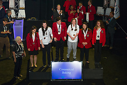 The 2017 SkillsUSA National Leadership and Skills Conference Competition Medalists were announced Friday, June 23, 2017 at Freedom Hall in Louisville. <br /> <br /> Commercial Baking<br /> <br /> Gwen Frechette<br />   High School Saint Johnsbury Academy<br />   Gold Saint Johnsbury, VT<br /> Commercial BakingBrittany A Runz<br />   High School Hamilton Career Center<br />   Silver Seneca, SC<br /> Commercial BakingKayla Clingan<br />   High School Carroll County Career & Tech Center<br />   Bronze Westminster, MD<br /> Commercial BakingDaylan Torres<br />   College Johnson & Wales University<br />   Gold Providence, RI<br /> Commercial BakingAndrea Anne Koston<br />   College Alfred State College-School of Applied Technology<br />   Silver Wellsville, NY<br /> Commercial BakingCourtney Plyler<br />   College Pulaski Technical College Arkansas Culinary School<br />   Bronze Little Rock, AR