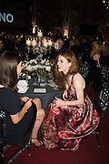 PORTIA LESLIE; ROSE LESLIE, Luminous -Celebrating British Film and British Film Talent,  BFI gala dinner & auction. Guildhall. City of London. 6 October 2015.