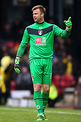 Artur Boruc of Bournemouth - Mandatory byline: Jason Brown/JMP - 27/02//2016 - FOOTBALL - Vicarage Road - Watford, England - Watford v Bournemouth - Barclays Premier League
