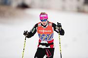DAVOS, SCHWEIZ - 2016-12-09: Ragnhild Haga under tr&auml;ning inf&ouml;r Viessmann FIS Cross Country World Cup den 9 december, 2016 i Davos, Schweiz. Foto: Nils Petter Nilsson/Ombrello<br /> ***BETALBILD***