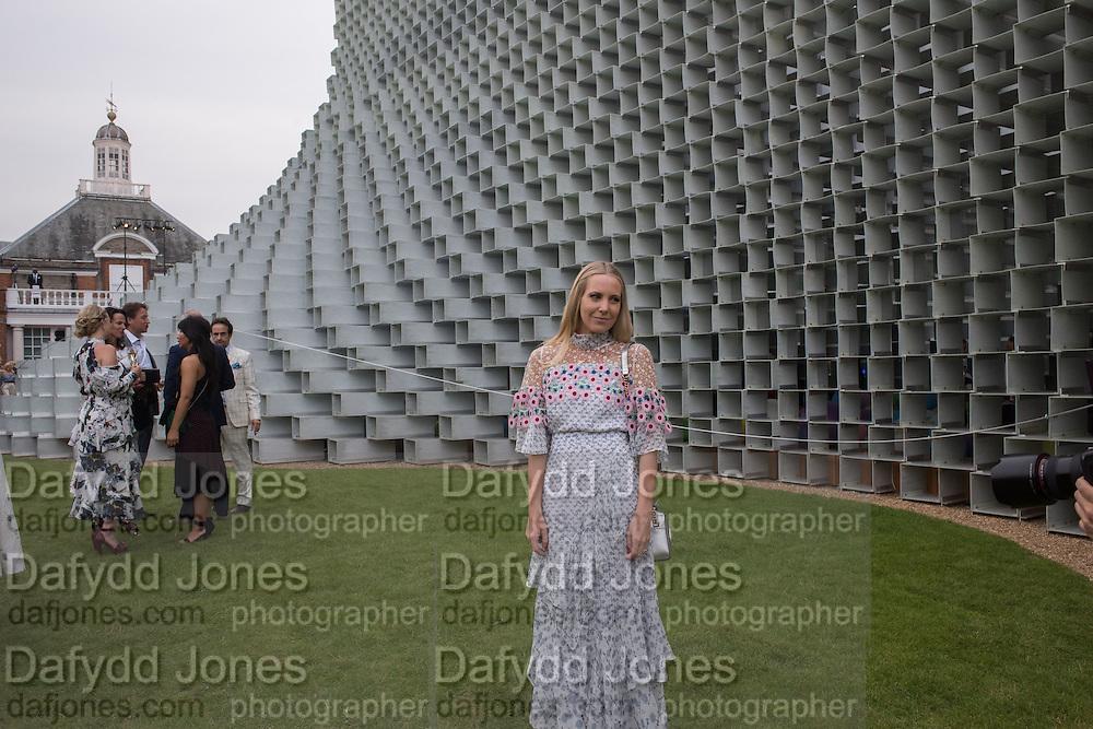 ALICE NAYLOR-LEYLAND, 2016 SERPENTINE SUMMER FUNDRAISER PARTY CO-HOSTED BY TOMMY HILFIGER. Serpentine Pavilion, Designed by Bjarke Ingels (BIG), Kensington Gardens. London. 6 July 2016