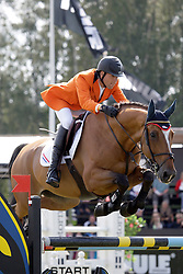 Van Asten Mathijs (NED) - Credence Z<br /> FEI Nations Cup of Sweden - Falsterbo 2012<br /> © Hippo Foto - Beatrice Scudo