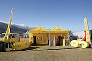 VILLIERSDORP, SOUTH AFRICA - MTN Internet Cafe during stage two of the Absa Cape Epic Mountain Bike Stage Race held between Gordon's Bay and Villiersdorp on the 23 March 2009 in the Western Cape, South Africa..Photo by Ron Gaunt /SPORTZPICS