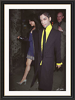 Prince 26/7/1997 Great Queen St London. A2 Museum-quality Archival signed Framed Print (Limited Edition of 25)
