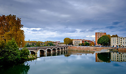 The Garonne River in Toulouse, France<br /> <br /> (c) Andrew Wilson | Edinburgh Elite media