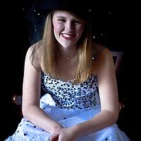 Senior Portrait for Sarah Hedden '10 Highlands NC