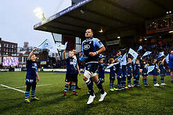 Olly Robinson of Cardiff Blues prior to kick off - Mandatory by-line: Ryan Hiscott/JMP - 05/10/2019 - RUGBY - Cardiff Arms Park - Cardiff, Wales - Cardiff Blues v Edinburgh Rugby - Guinness Pro 14