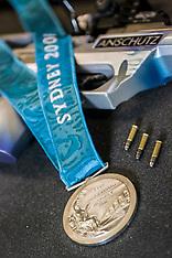 10.10.2000 Torben Grimmel, OL Sydney 2000  Sølvvinder i 50m riffel