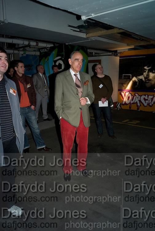 SWISS AMBASSADOR: ALEXIS P. LAUTENBERG, The launch of Your Game 2008. Swiss Ambassador's Residence car park. Bryanston Sq. London. W1. 28 February 2008.  *** Local Caption *** -DO NOT ARCHIVE-© Copyright Photograph by Dafydd Jones. 248 Clapham Rd. London SW9 0PZ. Tel 0207 820 0771. www.dafjones.com.