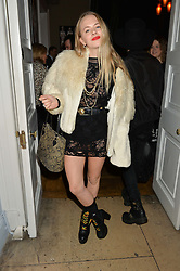 JESSICA HORWELL at the Tatler Little Black Book Party held at Home House Private Member's Club, Portman Square, London supported by CARAT on 6th November 2014.