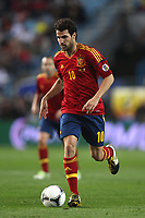 FOOTBALL - FIFA WORLD CUP 2014 - QUALIFYING - SPAIN v FRANCE - 16/10/2012 - PHOTO MANUEL BLONDEAU / AOP PRESS / DPPI - CESC FABREGAS