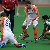 MELBOURNE - Champions Trophy men 2012<br /> Netherlands v Pakistan<br /> foto: Sander de Wijn scoort oop aangeven van rogier Hofman.<br /> FFU PRESS AGENCY COPYRIGHT FRANK UIJLENBROEK