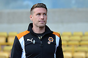 Wolverhampton Wanderers interim manager Rob Edwards during the EFL Sky Bet Championship match between Wolverhampton Wanderers and Derby County at Molineux, Wolverhampton, England on 5 November 2016. Photo by Alan Franklin.