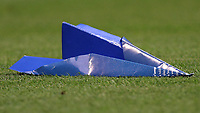 Football - 2014 / 2015 Premier League - Chelsea vs. Sunderland.   <br /> <br /> A paper aeroplane thrown onto the pitch at Stamford Bridge. <br /> <br /> COLORSPORT/DANIEL BEARHAM