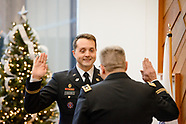 Oath of office ceremony of Chief Warrant Officer Justin Cullen