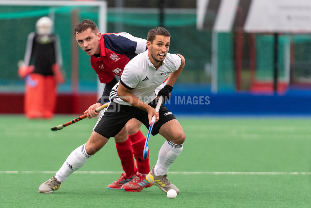 Cambridge City v Southgate - Men's Hockey League East Conference, Wilberforce road, Cambridge, UK on 27 October 2018. Photo: Simon Parker