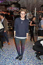 HENRY HOLLAND at a party to celebrate the first anniversary of SushiSamba at the Heron Tower, 110 Bishopsgate, London EC4 on 12th November 2013.