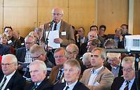 SOESTDUINEN - Freek Monster van de Hattemse. Algemene Ledenvergadering van de NGF (Nederlandse Golf Federatie) met bestuurswisseling. COPYRIGHT KOEN SUYK