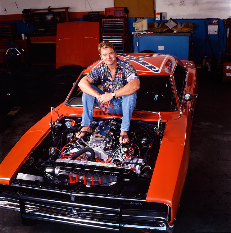 John Schneider and The General Lee