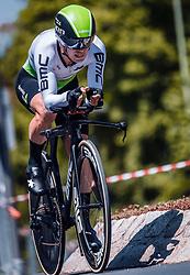06.07.2019, Wels, AUT, Ö-Tour, Österreich Radrundfahrt, Prolog, Einzelzeitfahren (2,5 km), im Bild Tom-Jelte Slagter (Team Dimension Data, NED) // during the prolog, Individual time trial (2,5 Km) of the 2019 Tour of Austria. Wels, Austria on 2019/07/06. EXPA Pictures © 2019, PhotoCredit: EXPA/ JFK
