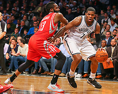 April 1, 2014: Houston Rockets at Brooklyn Nets
