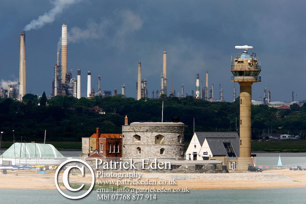 Calshot, Coastgurd, Control, Fawley oil Refinery, Southampton, New forest