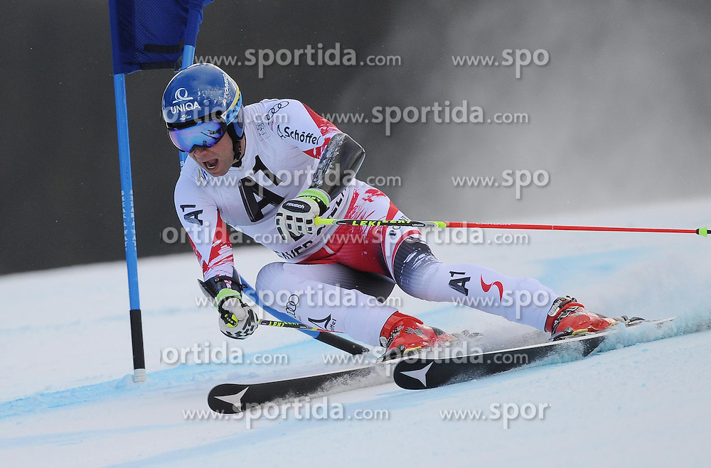 07.12.2014, Birds of Prey Course, Beaver Creek, USA, FIS Weltcup Ski Alpin, Beaver Creek, Herren, Riesenslalom, 1. Lauf, im Bild Benjamin Raich (AUT) // Benjamin Raich of Austria in actionduring the 1st run of men's Giant Slalom of FIS Ski World Cup at the Birds of Prey Course in Beaver Creek, United States on 2014/12/07. EXPA Pictures © 2014, PhotoCredit: EXPA/ Erich Spiess