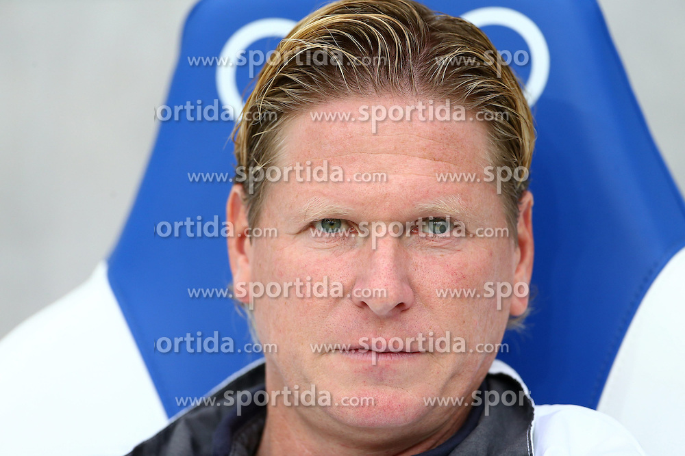 02.11.2013, Rhein Neckar Arena, Sinsheim, GER, 1. FBL, TSG 1899 Hoffenheim vs FC Bayern Muenchen, 11. Runde, im Bild Markus Gisdol (Trainer / TSG 1899 Hoffenheim), Portrait // during the German Bundesliga 11th round match between TSG 1899 Hoffenheim and FC Bayern Munich at the Rhein Neckar Arena in Sinsheim, Germany on 2013/11/02. EXPA Pictures &copy; 2013, PhotoCredit: EXPA/ Eibner-Pressefoto/ Neis<br /> <br /> *****ATTENTION - OUT of GER*****