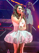 24.JUNE.2009. LONDON<br /> <br /> VANESSA WHITE PERFORMS ON STAGE WITH BAND THE SATURDAYS AT THE HAMMERSMITH APOLLO IN LONDON<br /> <br /> BYLINE: EDBIMAGEARCHIVE.COM<br /> <br /> *THIS IMAGE IS STRICTLY FOR UK NEWSPAPERS AND MAGAZINES ONLY*<br /> *FOR WORLD WIDE SALES AND WEB USE PLEASE CONTACT EDBIMAGEARCHIVE - 0208 954 5968*