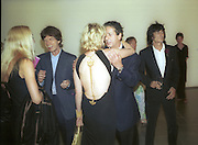 Jerry Hall, Mick Jagger, Trudie Styler and Ronnie Wood. 30th Aniversary Gala Dinner, Serpentine Gallery.20 June 2000<br />