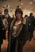 Tracey Emin, TWO LEGS BAD, FOUR LEGS GOOD, Jake & Dinos Chapman. PARADISE ROW, 17 Hereford Street. London E2 . 9 February 2007.  -DO NOT ARCHIVE-© Copyright Photograph by Dafydd Jones. 248 Clapham Rd. London SW9 0PZ. Tel 0207 820 0771. www.dafjones.com.