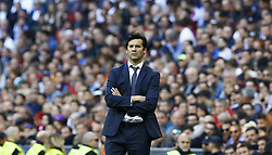 November 3, 2018 - Madrid, Madrid, Spain - Santiago Hernan Solari (Real Madrid) seen in action during the La Liga match between Real Madrid and Real Valladolid at the Estadio Santiago Bernabéu..Final score Real Madrid 2-0 Valladolid. (Credit Image: © Manu Reino/SOPA Images via ZUMA Wire)