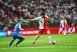 June 10, 2019 - Warsaw, Poland - Robert Lewandowski of Poland in action during the UEFA Euro 2020 qualifier Group G football match Poland against Israel on June 10, 2019 in Warsaw, Poland. (Credit Image: © Foto Olimpik/NurPhoto via ZUMA Press)