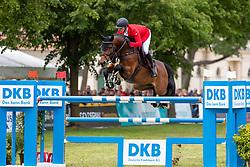 MEYER Tobias (GER), Corny 8 <br /> Redefin - Pferdefestival 2019<br /> Stechen<br /> Großer Preis der Deutschen Kreditbank AG<br /> BEMER Riders Tour - Wertungsprüfung<br /> Große Tour – Finale: Int. Weltranglisten-Springprüfung (1,60m) mit zwei Umläufen<br /> 26. Mai 201<br /> © www.sportfotos-lafrentz.de/Stefan Lafrentz