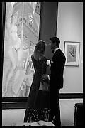 EVA HERZIGOVA; GREGORIO MARSIAJ The Neo Romantic Art Gala in aid of the NSPCC. Masterpiece. Chelsea. London.  30 June 2015