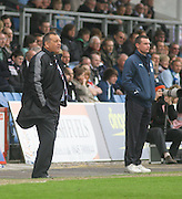 Jimmy Calderwood and Barry Smith - Ross County v Dundee - IRN BRU Scottish Football League First Division at Victoria Park<br /> <br /> <br /> <br /> http://www.davidyoungphoto.co.uk