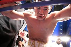 July 14, 2007: Arturo Gatti vs Alfonso Gomez at Caesars Palace in Atlantic City, NJ -  Arturo Gatti is defeted in the seventh round by Gomez. TKO 7th round.