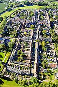 Nederland, Gelderland, Neder-Betuwe, 30-09-2015; historische stad Buren. De vestingstad is een beschermd dorpsgezicht. <br /> Fortified heritage village.<br /> luchtfoto (toeslag op standard tarieven);<br /> aerial photo (additional fee required);<br /> copyright foto/photo Siebe Swart