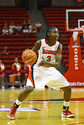 15 March 2012:  Candace Sykes during a first round WNIT basketball game between the Central Michigan Chippewas and the Illinois Sate Redbirds at Redbird Arena in Normal IL