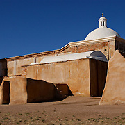 Ruins of the Franciscan church at Mission San Jose de Tumacacori, Arizona.
