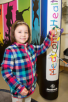 Amy Shimizu from Rosshill at The Galway Education Centre for the launch of the annual Medtronic Foundation Programme. The programme which has been in existence for over ten years now includes the Medtronic Healthy Living Initiative, The Medtronic Scientist of The Future Project and The Medtronic KNEX Challenge..As part of their Healthy Living Initiative, The Medtronic Foundation partners with The Galway Education Centre to run a number of programmes in Galway City and County schools. In 2012, the Medtronic Foundation Community Connections programme included  gymnastics and skipping while a number of schools took part in the schools garden project. Perhaps the most ambitious was the heart dissection initiative which saw Medtronic staff in the classroom taking children as young as 6, step by step through a heart dissection!
